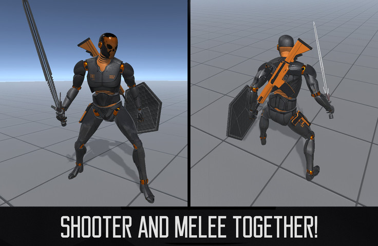 Third Person Controller - Shooter Template - Unity Asset Review